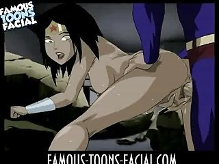 Super Heroes porn sex video