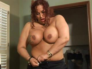 Busty Chubby Gina Blows Him And...