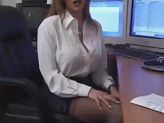 F60 Obese Boobs OFFICE Grown-up