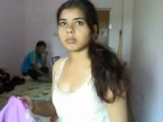 Desprate Indian Girl Want Her Bo...