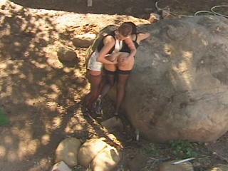 Outdoor Lesbian Afternoon Fun