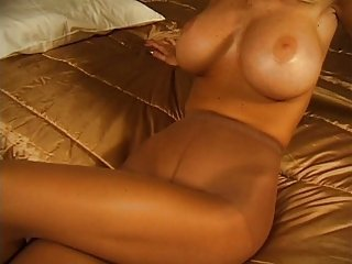 Carolyn milf with big tits in sheer pantyhose (Part 3 of 4)