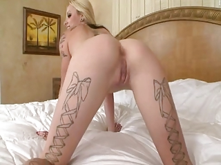 Wonderful Blond Girl Fucked By B...