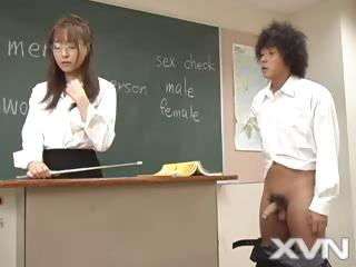 Japanese Student And His Horny T...