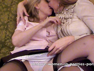 Two Mature Women In Their Full S...