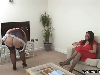 "Denise Davies Seduces Maid Dani Amour"" class=""th-mov"