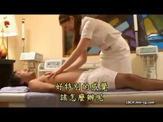 Masseuse Gets A Turn Around When...