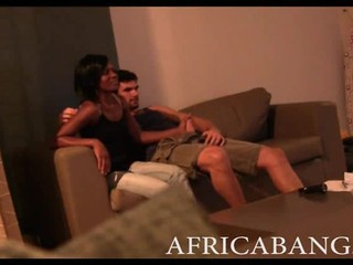 African Amateur Girlfriend Hardc...