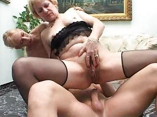 He Brings Abode Two Hot Blondes T...