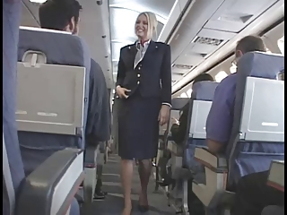 American Stewardess Handjob - Part 6