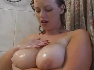 Fat Girl In The Wet Shower