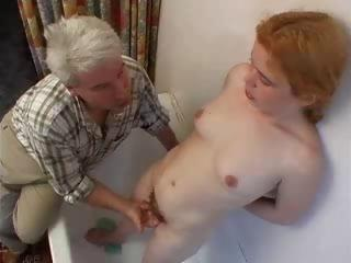 Tiny Hairy Teen Gets Her Ass ...