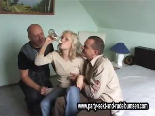 Blonde Drunk Groupsex
