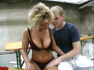 After Oral She Bends Over And Ta...