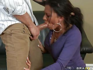 Rachel Starr Gets A Rough Face F...