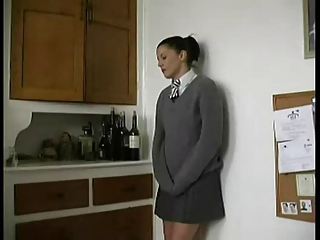 School Girl Canned And Fucked