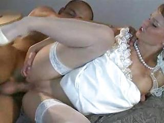 Hot Bride Fucks A Mendicant On Her Wed...