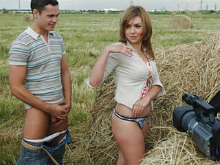 Susan and Boris fulfilled a dirty fantasy of many happy family couples – sex on the hayloft. It's so romantic and so fucking hot at the same time. They lay in that warm mess of hay and take incredible positions for that sex action to be more ardent.