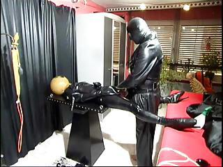 Kinky Latex And Leather Play In...