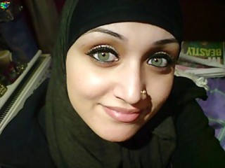 Cum on face of a Pakistani girl