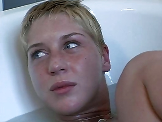 Claudia - Short Haired Blond Tee...