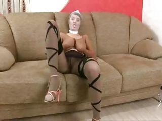 Pantyhose Ladies Play