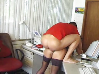 Floosie in her home place doing hardcore scene