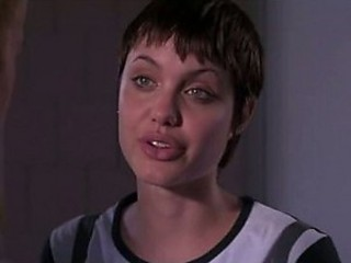 Angelina Jolie With Short Hair
