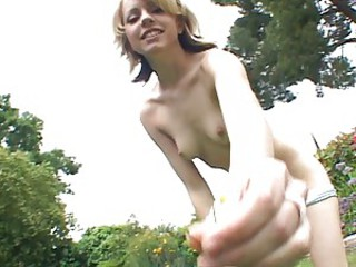 Teen throatfucked and facialized