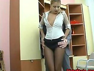 Secretary Needs To Give Her Ass In Order To Keep The ...