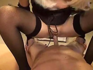 Super hot with an increment of slutty German milf loves load of shit