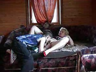 Mature blonde just about big tits takes his cock inexpensive