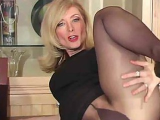 Mature nina hartley in pantyhose as never seen