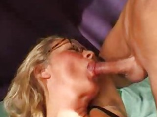 Many dicks descend on French mature
