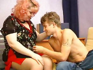 Mature Mom Old and Young Teen