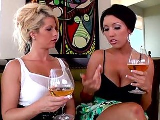 Brooke Haven And Dylan Ryder Share A Lucky Guy's Big Cock