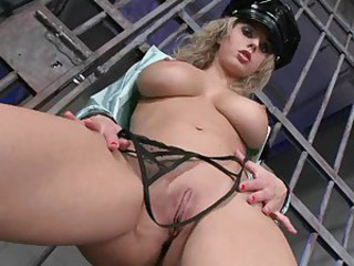 Slutty blonde Russian Mandy Dee is way to hot to wear any clothes
