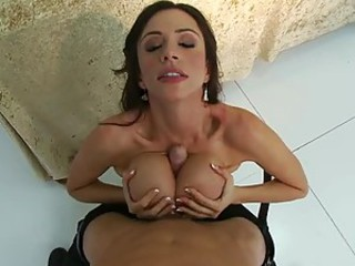 Busty Scientist Ariella Ferrera Loves Men In Uniform