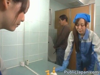 Asian Maid Public Voyeur