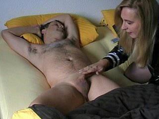 Amateur wife gives buff to her husband
