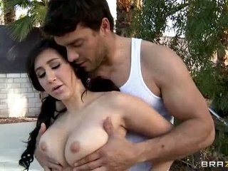 Ramon turns amusement into licentious one. He plays it outdoors with Valerie Kay that has nice big tits increased by succulent ass. He rubs her nice tits forwards she rides his tongue increased by sturdy cock.