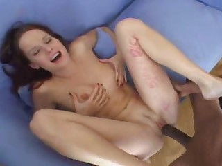 Big black cocks on white girl