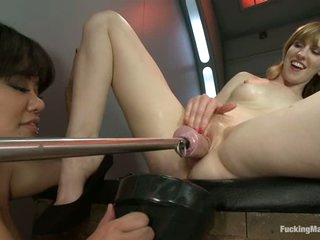 Mallory Malone gets fisted and gadgetry fucked
