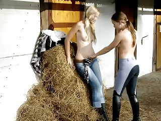 WHAT TEENS DO AT THE STABLE