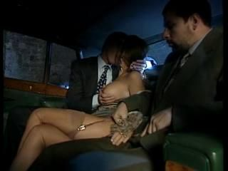 Anal Italian Stockings Threesome