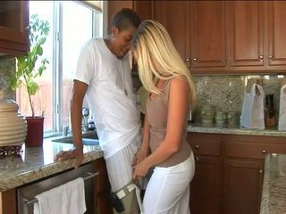 Hot blonde MILF Devon Lee yearns for a dark dick up her moist fuckhole