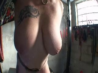 Abused tits