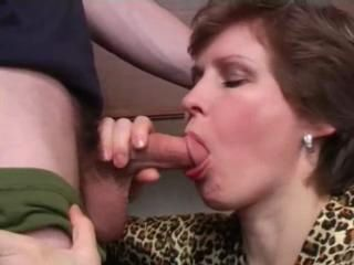 Son forced mom swell up and fuck