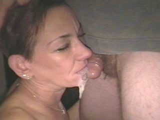 AM Slut attempting to gag herself on a micro cock