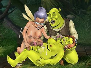 "Fiona from Shrek and other famous cartoon chicks with dicks"" target=""_blank"